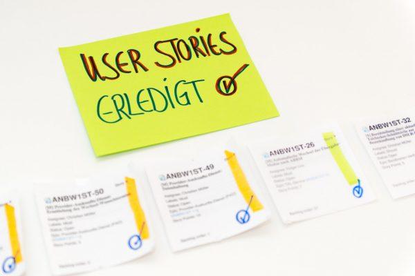 Agile Projekt - User Stories